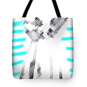 The Flash Of An Angel Tote Bag