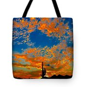 The Flavor Of The Sky Tote Bag