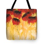 The Fleeting Nature Of Poppies Tote Bag