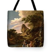 The Flight Into Egypt Tote Bag