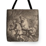 The Flight Into Egypt: Small Tote Bag
