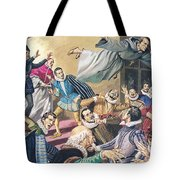 The Flight Of Father Dominic Tote Bag