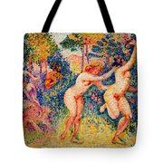The Flight Of The Nymphs Tote Bag