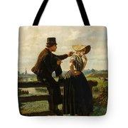 The Flirtation Tote Bag