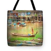 The Floating Village Tote Bag