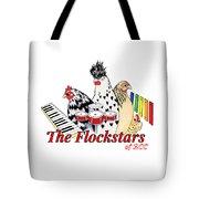 The Flockstars Tote Bag by Sarah Rosedahl