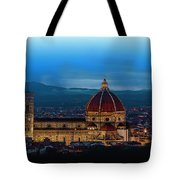 The Florence Cathedral  Tote Bag