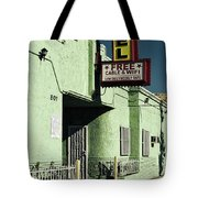 The Flores Motel Tote Bag