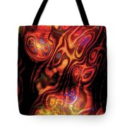 The Flow Of Power Tote Bag