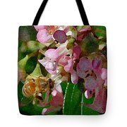 The Flower Bee Tote Bag