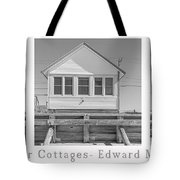 The Flower Cottages Trio Poster Tote Bag
