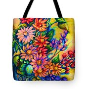 The Flower Dance Tote Bag