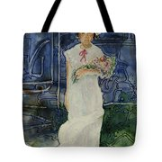 The Flower Holder Tote Bag