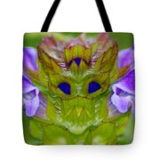 The Flower King Tote Bag