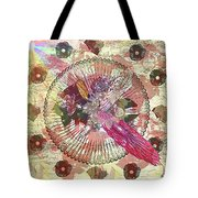 The Flowerclock Tote Bag