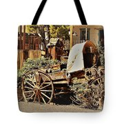The Flowering Wagon Tote Bag