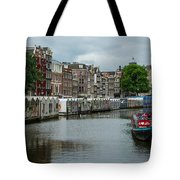 The Flowermarket Canal Tote Bag