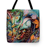 The Flowers And Sea Tote Bag