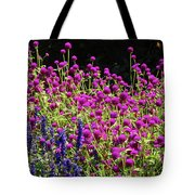 The Flowers And The Bees Tote Bag
