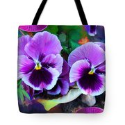 The Flowers Of Eleanor  Tote Bag