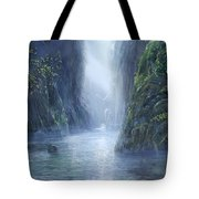 The Flowing Of Time Tote Bag