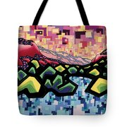 The Fluctuation Of Matter And Spirit Tote Bag