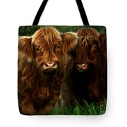 The Fluffy Cows Tote Bag