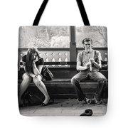 The Flutist  Tote Bag
