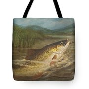 The Fly Fisherman's Net Tote Bag