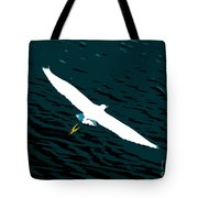 The Flying Egret Tote Bag