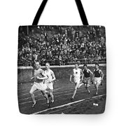 The Flying Finn Takes The Lead Tote Bag
