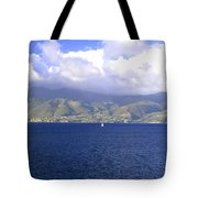 The Fog Lifts Tote Bag