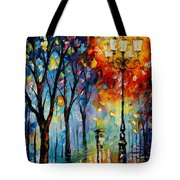 The Fog Of Dreams Tote Bag