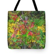 The Foliage That Seems To Be Almost Sentient  Tote Bag