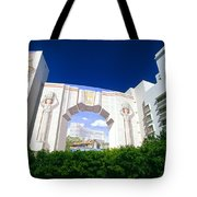 The Fontainebleau Hotel Tote Bag