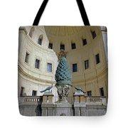 The Fontana Della Pigna In The Vatican City Tote Bag
