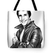 The Fonz Tote Bag