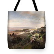 The Footpath From Ariccia To Albano Tote Bag