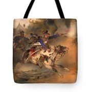 The Foraging Hussar 1840 Tote Bag