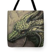 The Forest Dragon Tote Bag