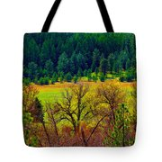 The Forest Echoes With Laughter Tote Bag