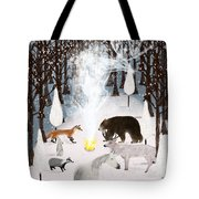 The Forest Guardians Tote Bag