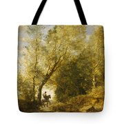 The Forest Of Coubron Tote Bag
