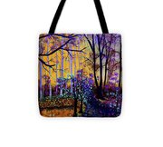 The Forest - Yellow Pond  Tote Bag