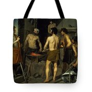 The Forge Of Vulcan Tote Bag