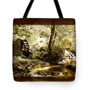 The Forgotten Watermill Wheel Tote Bag