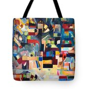 The Form Of The Mishcan Is The Form Of The Creation Of The World Tote Bag