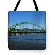 The Fort Henry Bridge - Wheeling West Virginia Tote Bag