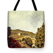 The Fort In Lorca Tote Bag