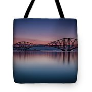 The Forth Bridge Before Sunrise Tote Bag